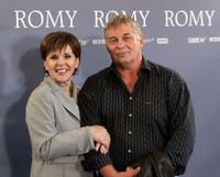Maresa Hoerbiger and Heinz Hoenig at the photocall of