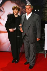Maresa Hoerbiger and Heinz Hoenig at the premiere of