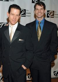 Christian Hoff and J. Robert Spencer at the 21st Annual spring benefit concert.
