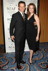 Christian Hoff and Melissa Hoff at the National Italian American Foundation's 2008 East Coast Gala.