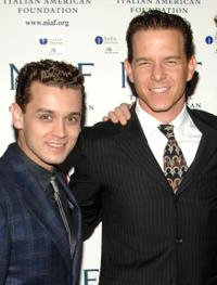 Michael Longoria and Christian Hoff at the National Italian American Foundation's 2008 East Coast Gala.