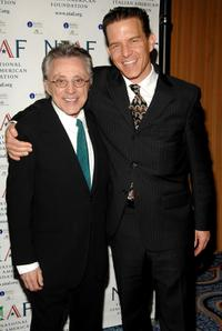 Frankie Valli and Christian Hoff at the National Italian American Foundation's 2008 East Coast Gala.