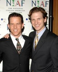 Christian Hoff and Sebastian Arcelus at the National Italian American Foundation's 2008 East Coast Gala.
