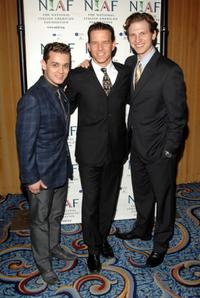Michael Longoria, Christian Hoff and Sebastian Arcelus at the National Italian American Foundation's 2008 East Coast Gala.