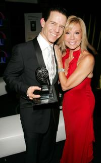 Christian Hoff and Kathie Lee Gifford at the 60th Annual Tony Awards.