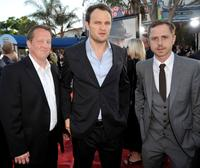 Christian Stolte, Jason Clarke and Giovanni Ribisi at the premiere of