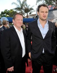 Christian Stolte and Jason Clarke at the premiere of