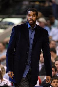 Rasheed Wallace at the American Airlines Center in Dallas.