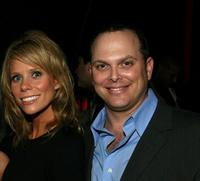 Cheryl Hines and Adam Paul at the Starz premiere party of