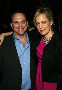 Adam Paul and Alexandra Wentworth at the Starz premiere party of