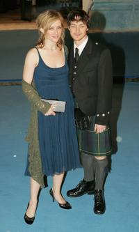 Anne-Marie Duff and James McAvoy at the Royal Film Performance and world premiere of