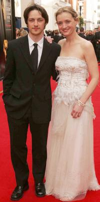 James McAvoy and Anne-Marie Duff at the Pioneer British Academy Television Awards.
