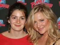 Gaby Hoffmann and Jessica Capshaw at the after party of the opening night of