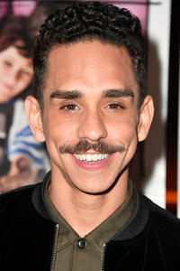 Ray Santiago at the premiere of