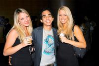 Terrea Bennett, Ray Santiago and Elizabeth Bianchi at the world premiere of