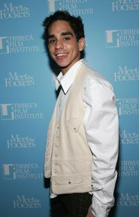 Ray Santiago at the screening of