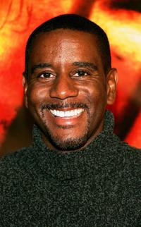 Reggie Gaskins at the premiere of