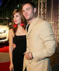 Carly Pope and Patrick Flueger at the screening of