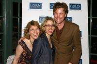 Liz Larson, Jackie Hoffman and Sal Viviano at the after party of the Caron Foundation Presents Benefit Reading
