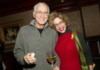 Dick Latessa and Jackie Hoffman at the party for ABC Daytime stars.