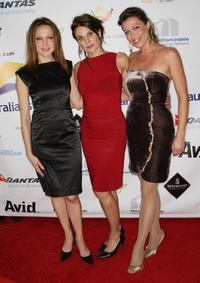 Kate Beahan, Diana Glenn and Kimberly Joseph at the 2009 Australian Academy Awards Nominee Party.
