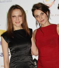 Kate Beahan and Diana Glenn at the 2009 Australian Academy Awards Nominee Party.