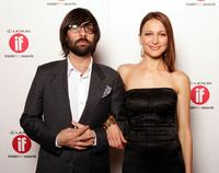 Jason Schwartzman and Kate Beahan at the 2005 Lexus Inside Film Awards.