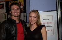 Damien De Montemas and Kate Beahan at the Australian premiere of