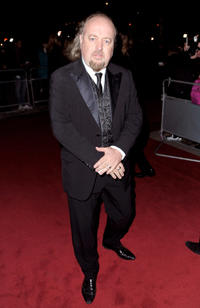 Bill Bailey at the V&A's Hollywood Costume Exhibition in London.