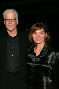 Ted Danson and Isabella Hofmann at the California premiere of