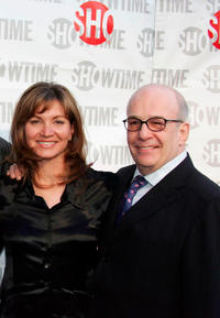 Isabella Hofmann and executive producer David Kennedy at the California premiere of