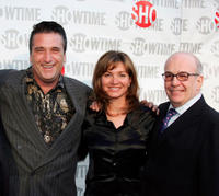 Daniel Baldwin, Isabella Hofmann and executive producer David Kennedy at the California premiere of