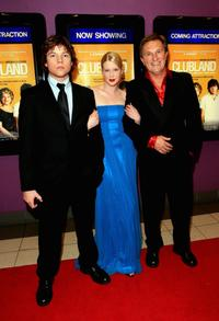Khan Chittenden, Emma Booth and Frankie J. Holden at the Australian premiere of