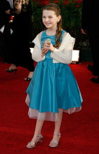 Abigail Breslin at the 64th Annual Golden Globe Awards.