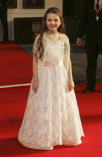 Abigail Breslin at the Orange British Academy Film Awards in London.