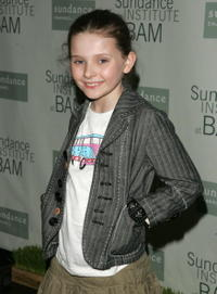 Abigail Breslin at the opening night party for Sundance Institute At BAM with a special screening of