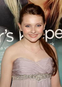 Abigail Breslin at the New York premiere of