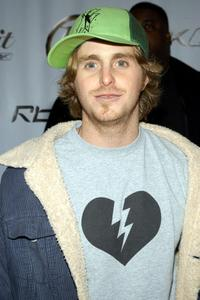 Cameron Douglas at the Reeboks and rapper 50 Cent's launch party.