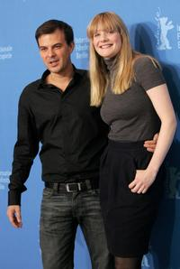 Director Francois Ozon and Romola Garai at the photocall of