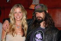 Sheri Moon and Rob Zombie at the DVD release party of
