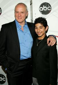 Alan Dale and Mark Indelicato at the ABC Upfront presentation.