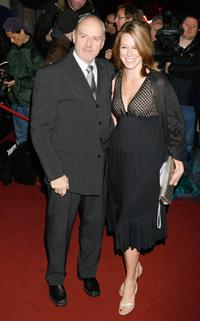Alan Dale and Tracey Dale at the Laurence Olivier Awards.