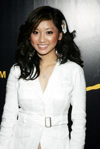 Brenda Song at the Christian Audigier Fashion Show And Party.
