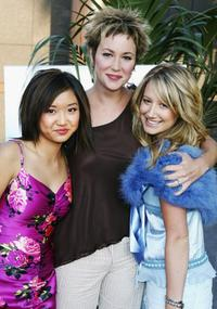 Brenda Song, Kim Rhodes and Ashely Tisdale at the premiere of