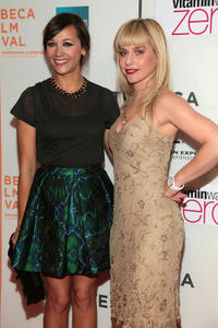 Rashida Jones and Meital Dohan at the premiere of