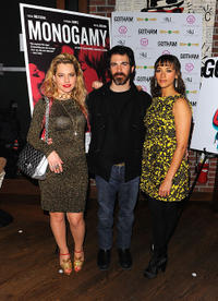 Meital Dohan, Chris Messina and Rashida Jones at the New York premiere of
