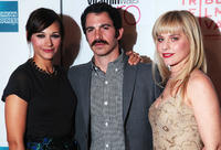 Rashida Jones, Chris Messina and Meital Dohan at the premiere of