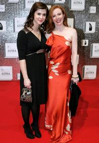 Kestie Morassi and Alison Whyte at the 7th Annual ASTRA Awards.