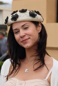 Kestie Morassi at the Emirates Melbourne Cup Day 2006 during the Melbourne Cup Carnival.