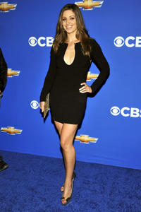 Bianca Kajlich at the CBS event